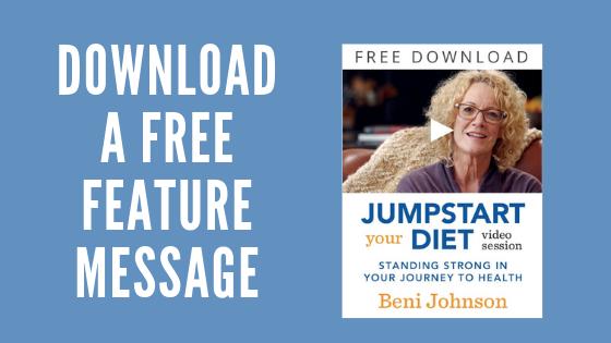 Beni Johnson Free Video Message
