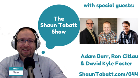 EPISODE 44: ADAM BARR, RON CITLAU & DAVID KYLE FOSTER – A ROUNDTABLE DISCUSSION ON LGBTQ ISSUES IN CHURCH, CULTURE AND MINISTRY [PODCAST]