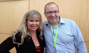 Sue Detweiler & Shaun Tabatt at ICRS 2014