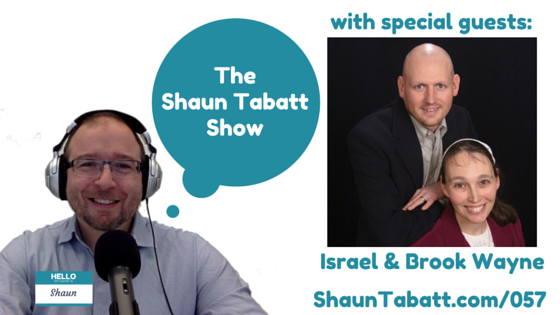 EPISODE 57: ISRAEL & BROOK WAYNE – PITCHIN' A FIT!: OVERCOMING ANGRY AND STRESSED-OUT PARENTING [PODCAST]