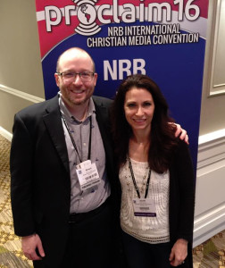 Shaun Tabatt and Jean Watson at NRB 2016 in Nashville TN