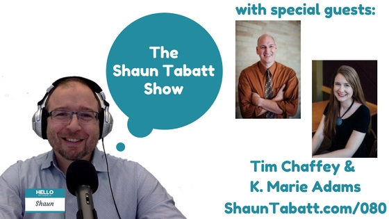 Shaun Tabatt Show Episode 80 Tim Chaffey K. Marie Adams Noah Man of Destiny