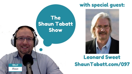 Episode 97: Leonard Sweet – The Bad Habits of Jesus: Showing Us the Way to Live Right in a World Gone Wrong [podcast]