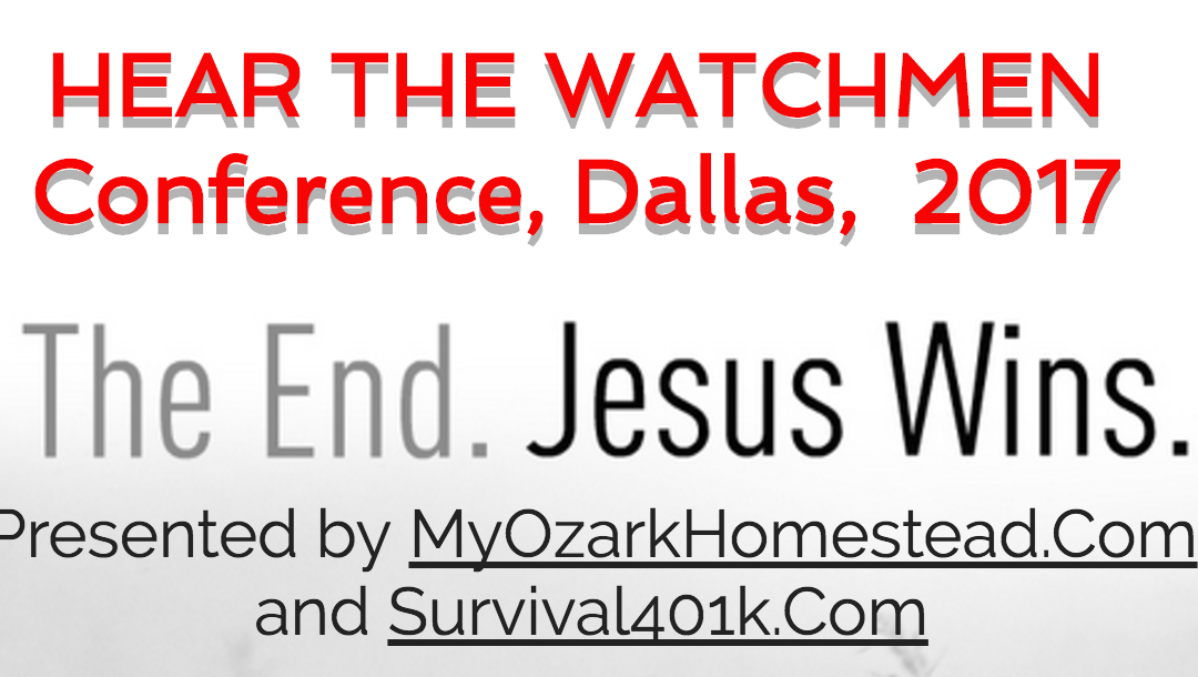 Episode 120: Mike Kerr & Jeannie Moore – Hear the Watchmen Conference – March 31 – April 2, 2017 in Dallas, TX [podcast]
