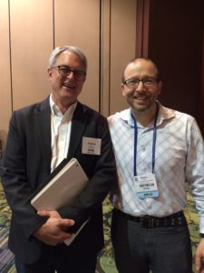 Shaun Tabatt and George Barna at Proclaim17 in Orlando