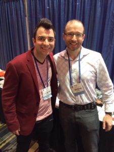 Shaun Tabatt and Lucas Miles at Proclaim17 in Orlando
