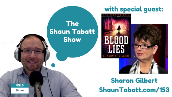 Episode 153: Sharon Gilbert – Blood Lies – The Redwing Saga Book 1 [podcast]