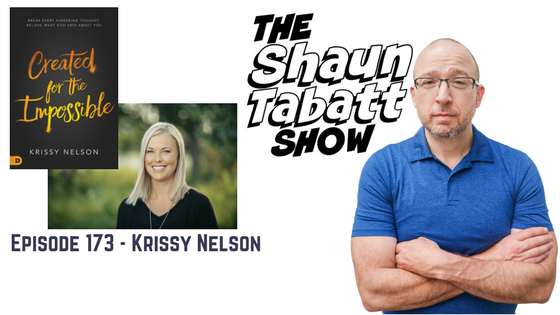Episode 173: Krissy Nelson – Created for the Impossible [podcast]