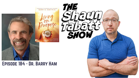 Episode 184: Barry Ham – Living on Purpose: Knowing God's Design for Your Life [podcast]
