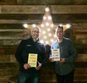 Shaun Tabatt and Chad Johnson in Nashville for theThree