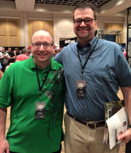 Shaun Tabatt and John Crotts at The Gospel Coalition in Orlando, FL