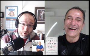 Shaun Tabatt interviewing David Amerland about The Sniper Mind