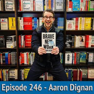 246 - Aaron Dignan - Brave New Work