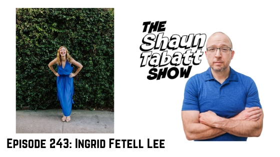 Shaun Tabatt Show 243 - Ingrid Fetell Lee - Joyful The Surprising Power of Ordinary Things to Create Extraordinary Happiness podcast