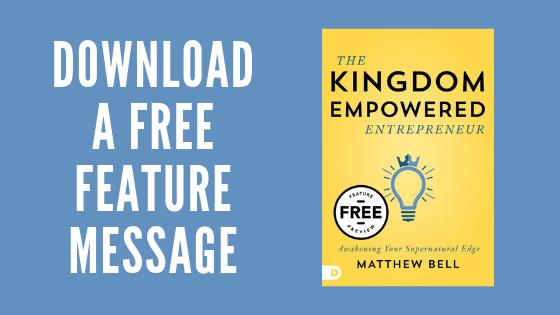 Matthew Bell Free Feature Message
