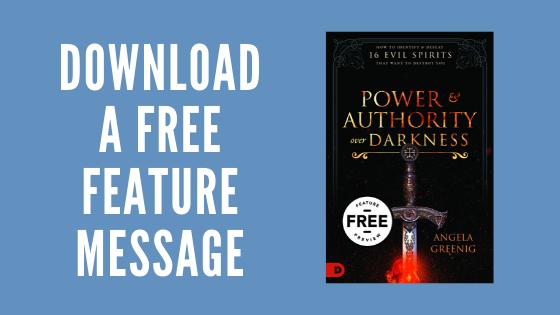 Angela Greenig - Free Feature Message Download
