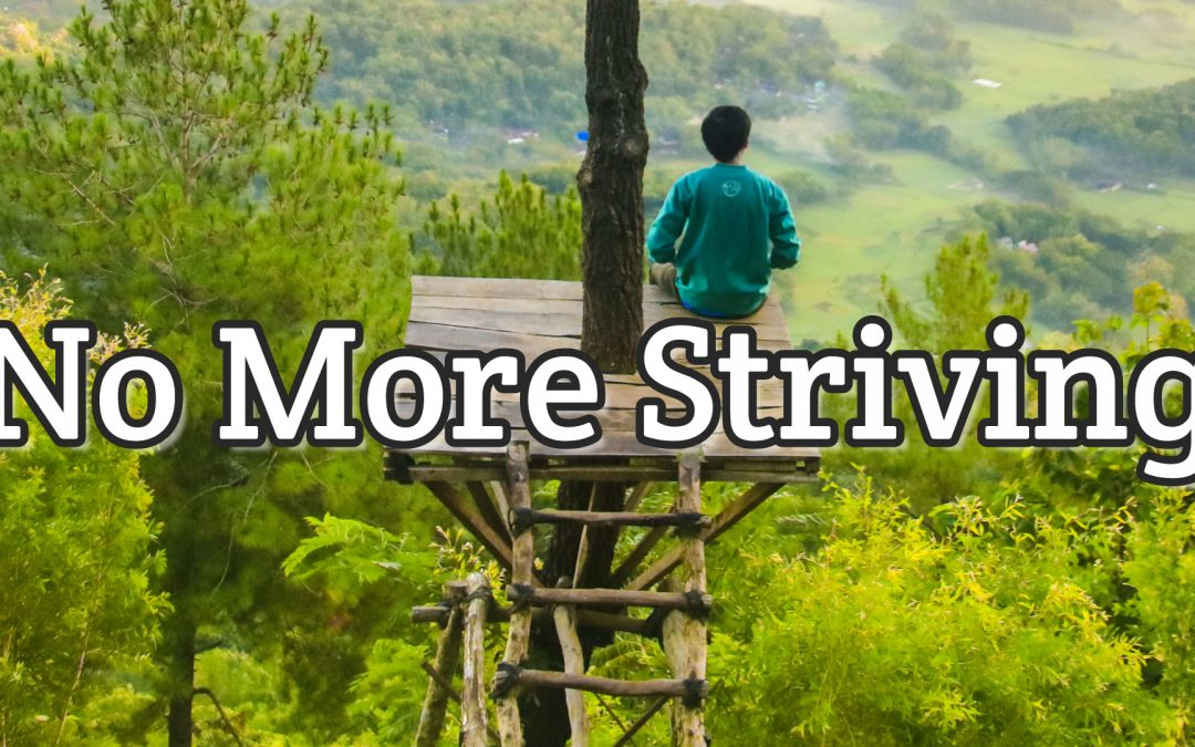 Psalm 46:10 – No More Striving
